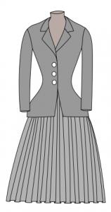 la robe brève histoire
