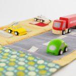 tapis petites voitures couture