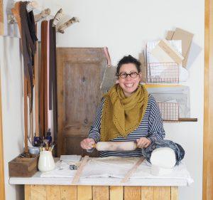 Cécile Réty la créatrice d'Atelier Camelir