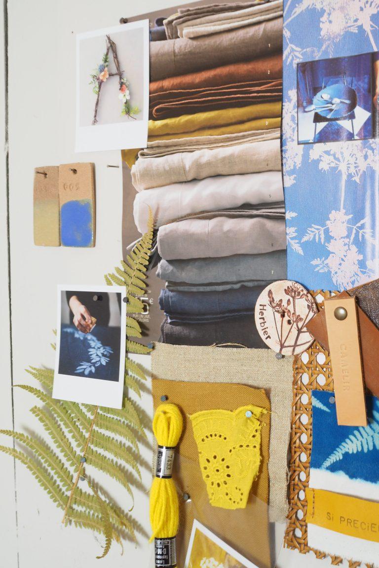 Mood Board Atelier Camelir
